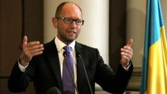 Ucraina fierbe iar: Premierul acuza Rusia ca planuieste o alta incursiune militara in est