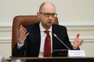 Ucraina ramane fara premier: Arseni Iateniuk si-a anuntat demisia (Video)