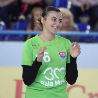 Ucraineanca din lotul Romaniei povesteste debutul de vis de la Europeanul de handbal