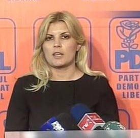 Udrea: PD-L si PNG sustin restructurarile de la Primaria Capitalei