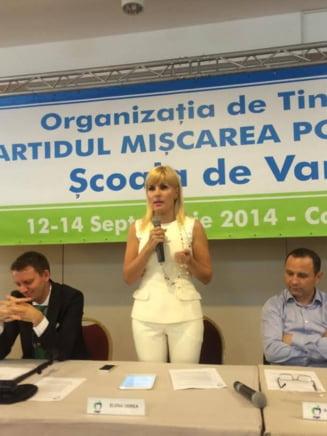 Udrea: Ponta este captiv baronilor locali ai PSD, a compromis ideea de tanar in politica