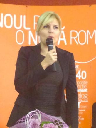 Udrea: USL va avea doi candidati la Presedintie - Ponta si Tariceanu