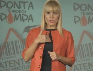 """Udrea, invitatie la miting pe Youtube: """"Ponta te arde cu Pompa"""" (Video)"""