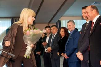 """Udrea, mandra ca e """"mostenitoarea lui Basescu"""": Nu voi fi regina Romaniei, dar voi fi un presedinte bun"""