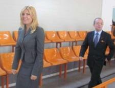 Udrea si Boc au inaugurat o sala de sport de un milion de euro