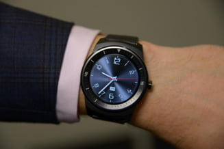 Uimitorul ceas inteligent G Watch R ajunge in Europa