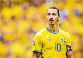 "Ultima aroganta marca Zlatan Ibrahimovic. Fotbalistul s-a autoproclamat ""rege"" al Suediei"