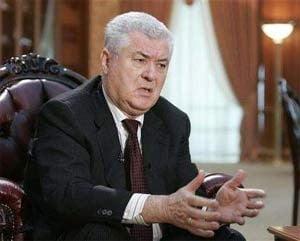 Ultima intalnire ca sef de stat: Voronin s-a intalnit cu patriarhul Kiril