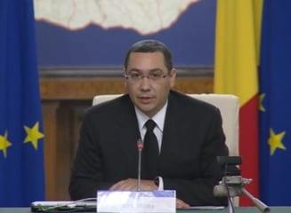 Ultima sedinta de guvern pentru Ponta si ultimul act ca premier: Majorarea salariilor profesorilor