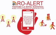 Ultima zi de teste Ro-Alert: Nu sunati la 112 pentru a transmite erorile!