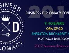 Ultimele zile de inscrieri la tarif special Early-Bird la Conferinta Internationala de Business Diplomacy, 9 Noiembrie 2017 - Sheraton Bucharest Hotel