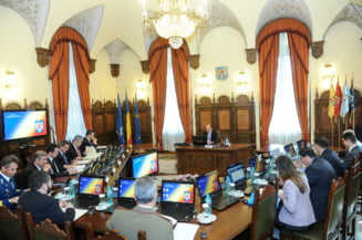 Ultimul CSAT la care participa Traian Basescu