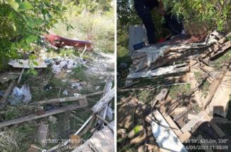 Ultimul pariu... pierdut: 3.000 de lei de plata la Politie, dupa ce si-a evacuat chiriasul si i-a dus gunoiul la cimitir