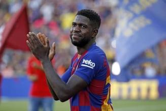 Umtiti a revenit la antrenamentele FC Barcelona dupa 4 luni