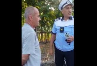 Un șofer din Galați, reţinut după ce a fost depistat cu o alcoolemie uriașă VIDEO