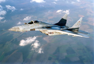 Un MiG-29 s-a prabusit langa Moscova (Video)