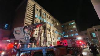 Un alt pacient din incendiul de la sectia ATI din Neamt a murit. Doar unul a mai ramas in viata, in stare foarte grava