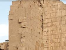 Un altar antic si bustul unui imparat roman au fost descoperite in Egipt (Foto)