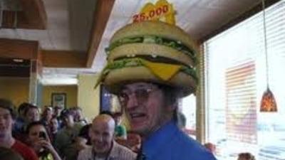 Un american a mancat 25.000 de hamburgeri de la McDonald's