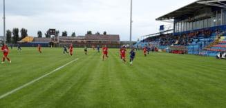 Un an de cand o echipa din Timis devenea gruparea din cea mai mica localitate din fotbalul feminin care joaca finala Cupei. Foto