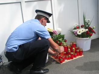 Un an de la moartea lui Marius Paliuc, jandarmul ucis in timpul serviciului, la Consulatul Germaniei