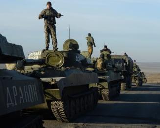 """Un an de la proclamarea """"Republicii Populare Donetk"""": Cum au sarbatorit separatistii prorusi"""