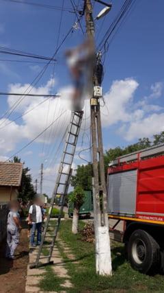 Un angajat al Romtelecom a MURIT electrocutat