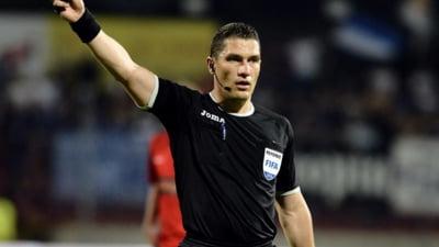 Un arbitru roman, delegat de UEFA sa conduca un meci din Liga Campionilor