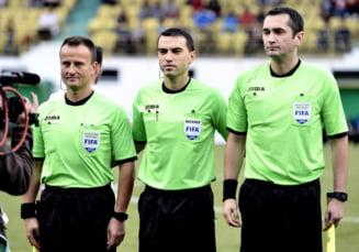 Un arbitru roman, delegat la cel mai important meci din sferturile Europa League