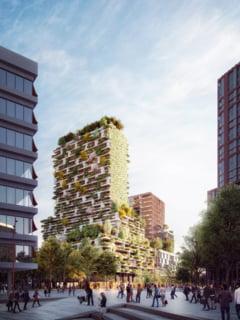 Un arhitect italian construieste blocuri acoperite de adevarate paduri verticale (Galerie foto)