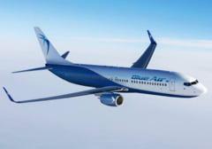 Un avion Blue Air plecat din Romania a fost interceptat de aeronave de lupta in Ungaria