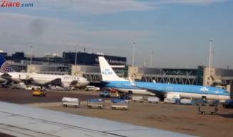 Un avion TAROM a fost implicat intr-un incident pe aeroportul din Amsterdam