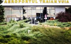 Un avion a ajuns pe spatiul verde, la Timisoara, dupa ce pilotul a ratat o curba
