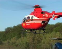 Un avion a aterizat fortat in Alba UPDATE: Pilotul grav ranit e un om de afaceri. Nu e la primul accident