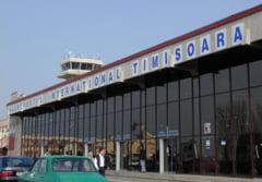 Un avion cargo a lovit doi stalpi de iluminat, pe aeroportul din Timisoara