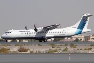 Un avion de pasageri s-a prabusit in Iran. Nu se poate ajunge la el din cauza viscolului UPDATE