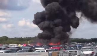 Un avion s-a prabusit in apropiere de Londra - toti cei aflati la bord au murit (Video)