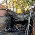 Un bărbat din Galați a murit în garaj, după ce maşina i-a luat foc