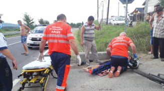 Un baiat de 15 ani a fost omorat de un sofer care a adormit la volan, in Mihaiesti. Alti doi copii se afla in stare grava la spital
