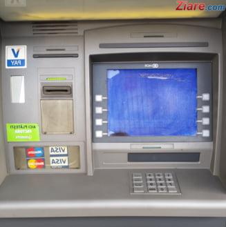 Un bancomat cu 600.000 de lei a fost furat cu totul in Timisoara