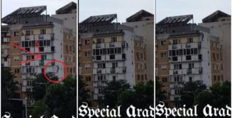 Un barbat de 32 de ani a murit, dupa ce a cazut de pe acoperisul unui bloc de 6 etaje in Arad. Anchetatorii privilegiaza pista sinuciderii