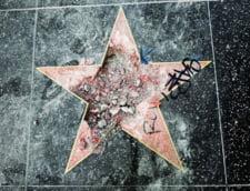 Un barbat deghizat in Hulk a distrus steaua lui Donald Trump de la Hollywood