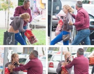 Un barbat fotografiat in timp ce agresa o femeie pe strada, candidat din partea PNL. Reactia lui Orban