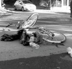Un biciclist mort si unul ranit, pe drumurile din Teleorman
