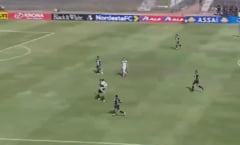 Un brazilian a fost eliminat de pe terenul de fotbal dupa doar 17 secunde VIDEO
