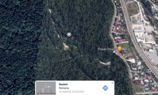 Un britanic dat disparut de familie, gasit spanzurat intr-o padure din Prahova. Salvamontistii l-au cautat toata noaptea VIDEO