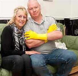 Un britanic este alergic la sotia lui