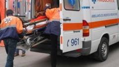Un copil de doar trei ani a fost lovit in plin de o masina