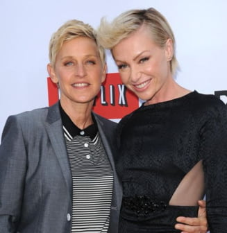 Un copil in cel mai cunoscut cuplu de lesbiene din lume? Ce spun protagonistele