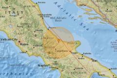 Un cutremur cu magnitudinea 5,3 s-a produs in Italia